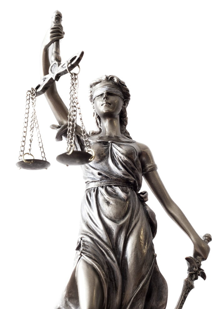 Lady justice statue png. Stock photography royalty free