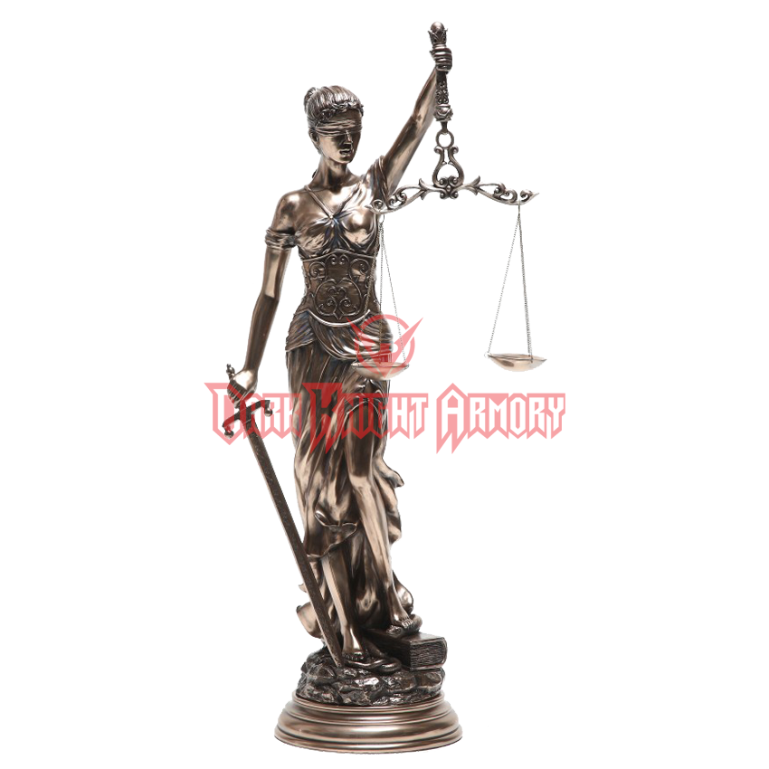 Lady justice statue png. Bronze cc from dark