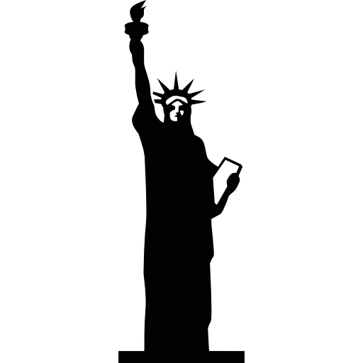 Statue of liberty icon png
