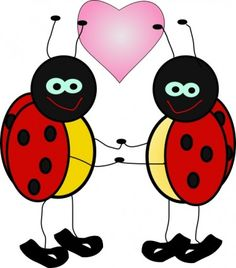 Ladybug clipart let's celebrate. Cute cartoon clip free