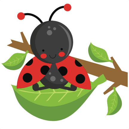 Ladybug silhouette at getdrawings. Leaf clipart insect jpg black and white stock