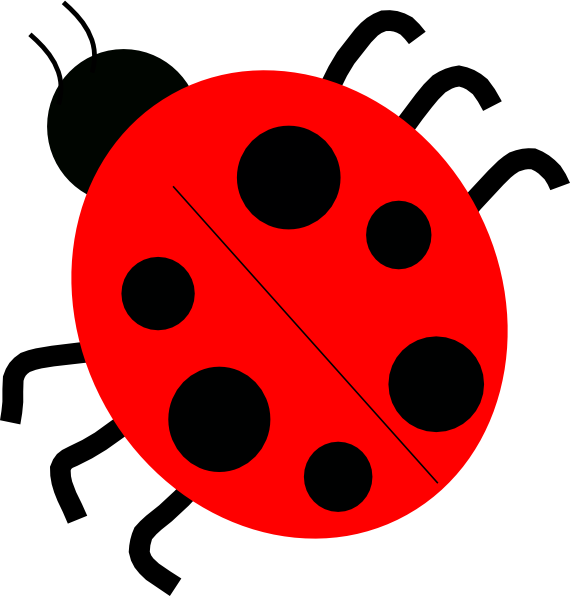 Ladybugs clipart animated. Red clip art at