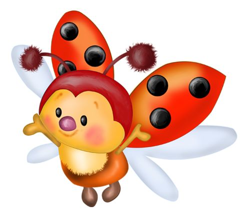 Ladybugs clipart animated. Best coccinelle images