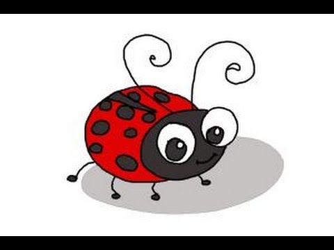 Ladybugs clipart kid. How to draw a