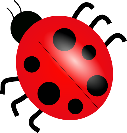 Match clipart ladybug number. Everything the source for