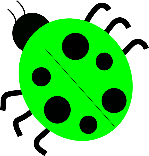Ladybugs clipart yellow ladybug. Green clip art at