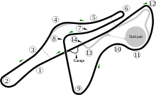 Laferrari drawing. Fiorano circuit wikipedia ferraris