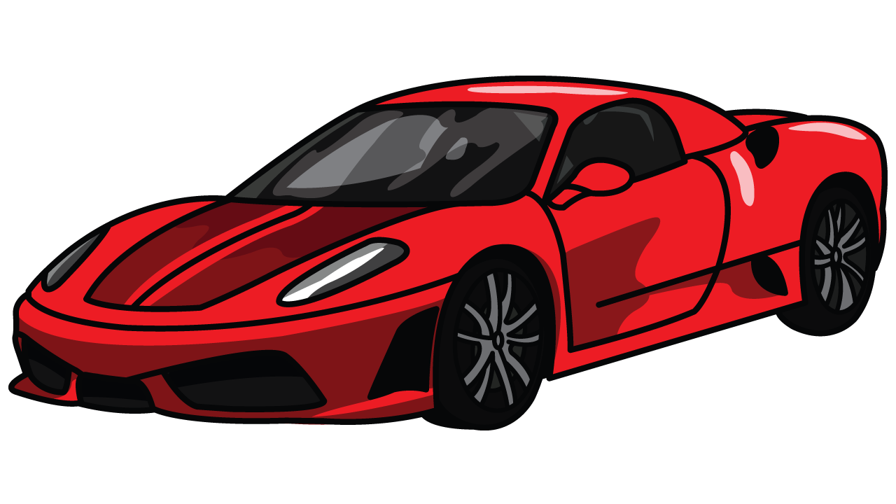 laferrari drawing