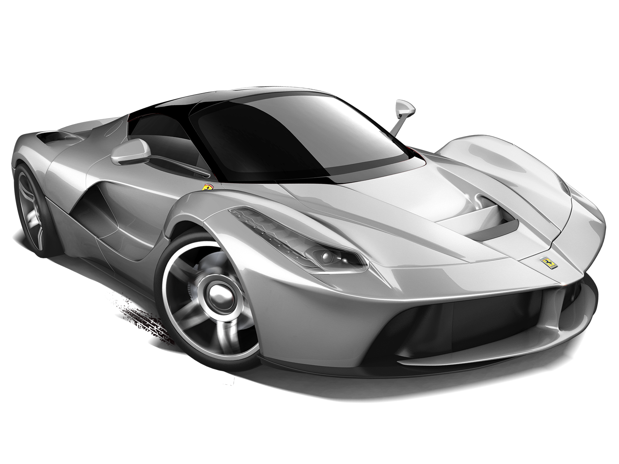Laferrari drawing black and white. Mattel hot wheels diecast