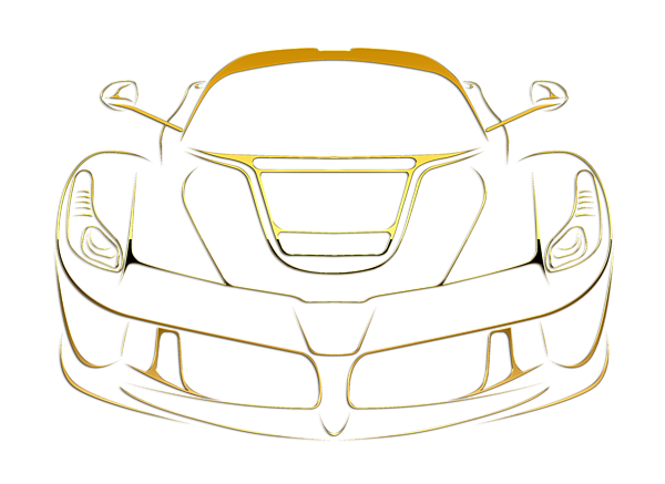 Laferrari drawing supercar. Ferrari gold t shirt