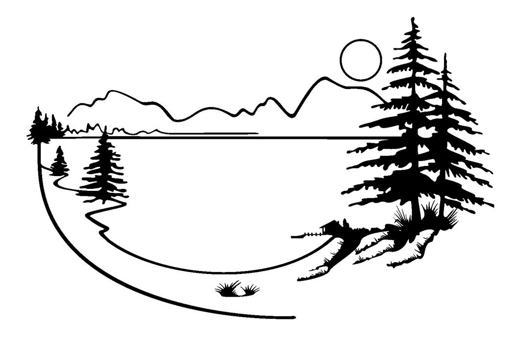 Lake clipart scenary. Scenery free in the