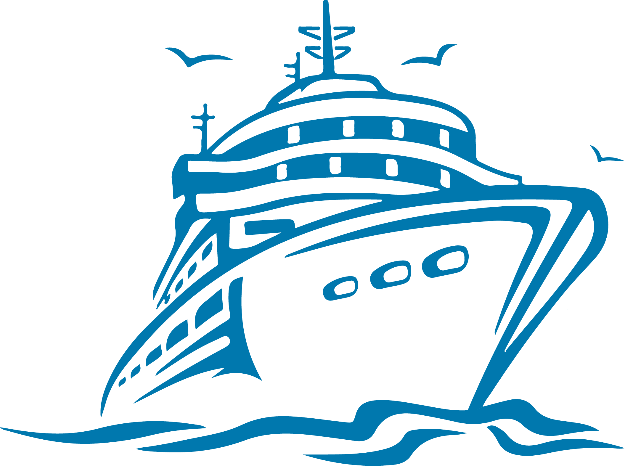 port drawing clipart