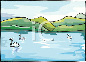 Lake clipart water lake. Animal clip art picture