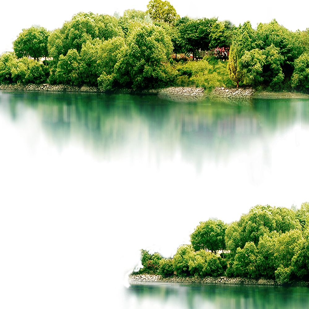 Vector lake mountain scenery. Landscape icon transprent png
