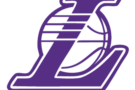 Los angeles logo full. Lakers drawing clipart royalty free library