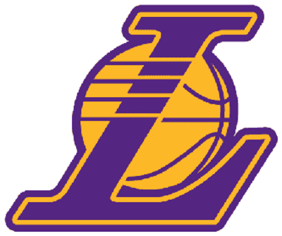 Lakers drawing font. Laker logo psd detail