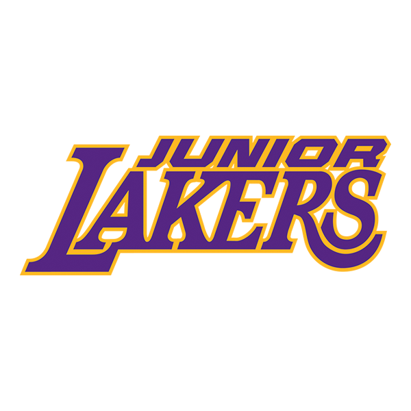 Lakers drawing font style. Community relations los angeles