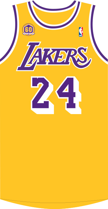 Lakers drawing jersey kobe bryant. Page los angeles showtime