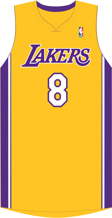 Lakers drawing jersey kobe bryant. Page los angeles modern