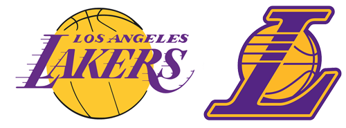 Lakers drawing lettering. Los angeles bluelefant current