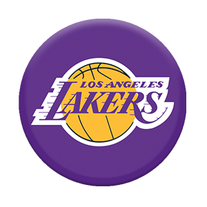 Lakers logo png. Nba los angeles popsockets