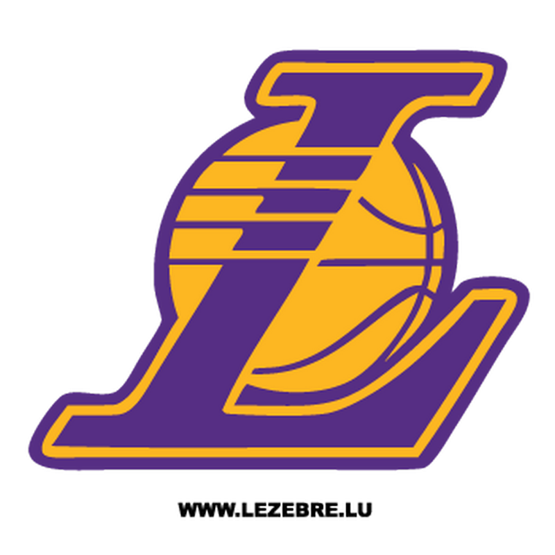 Lakers logo png. Los angeles decal