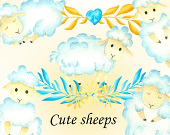 Lamb clipart baptism. Free cartoon sheep