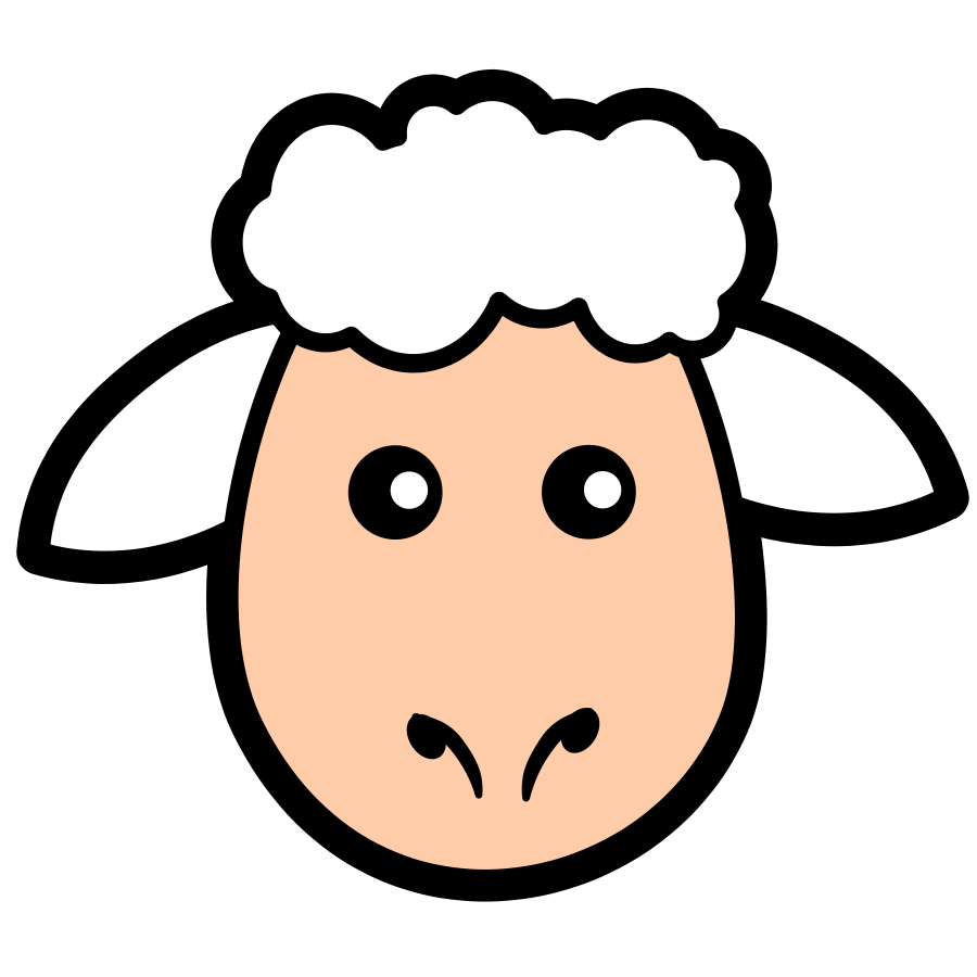 Lamb clipart baptism. Easter at getdrawings com