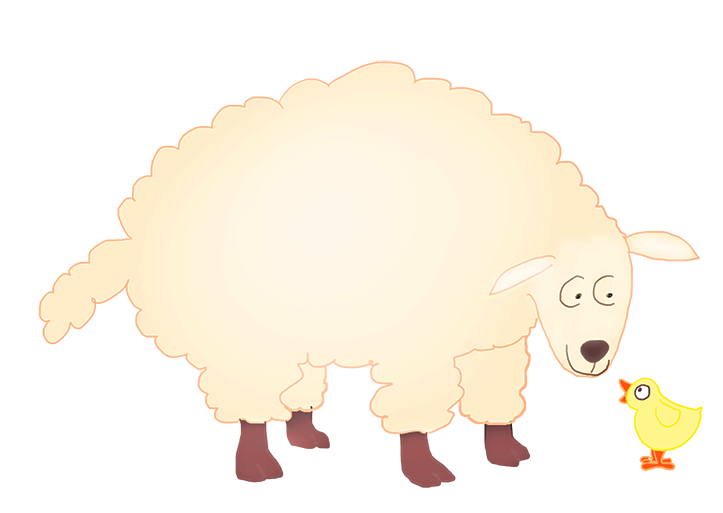 Lamb clipart easter. And chicken being best