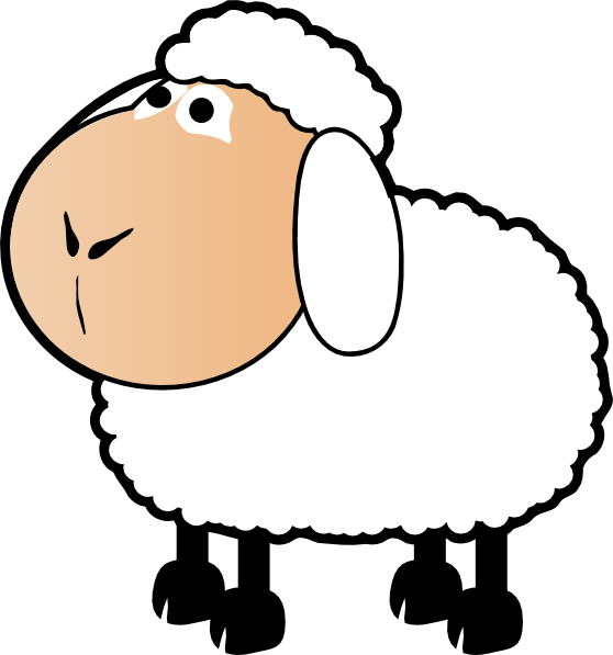 Lamb clipart mother. Free shy sheep cliparts