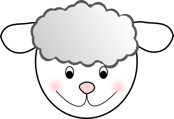 Print out smiling good. Mask clipart lamb clip library