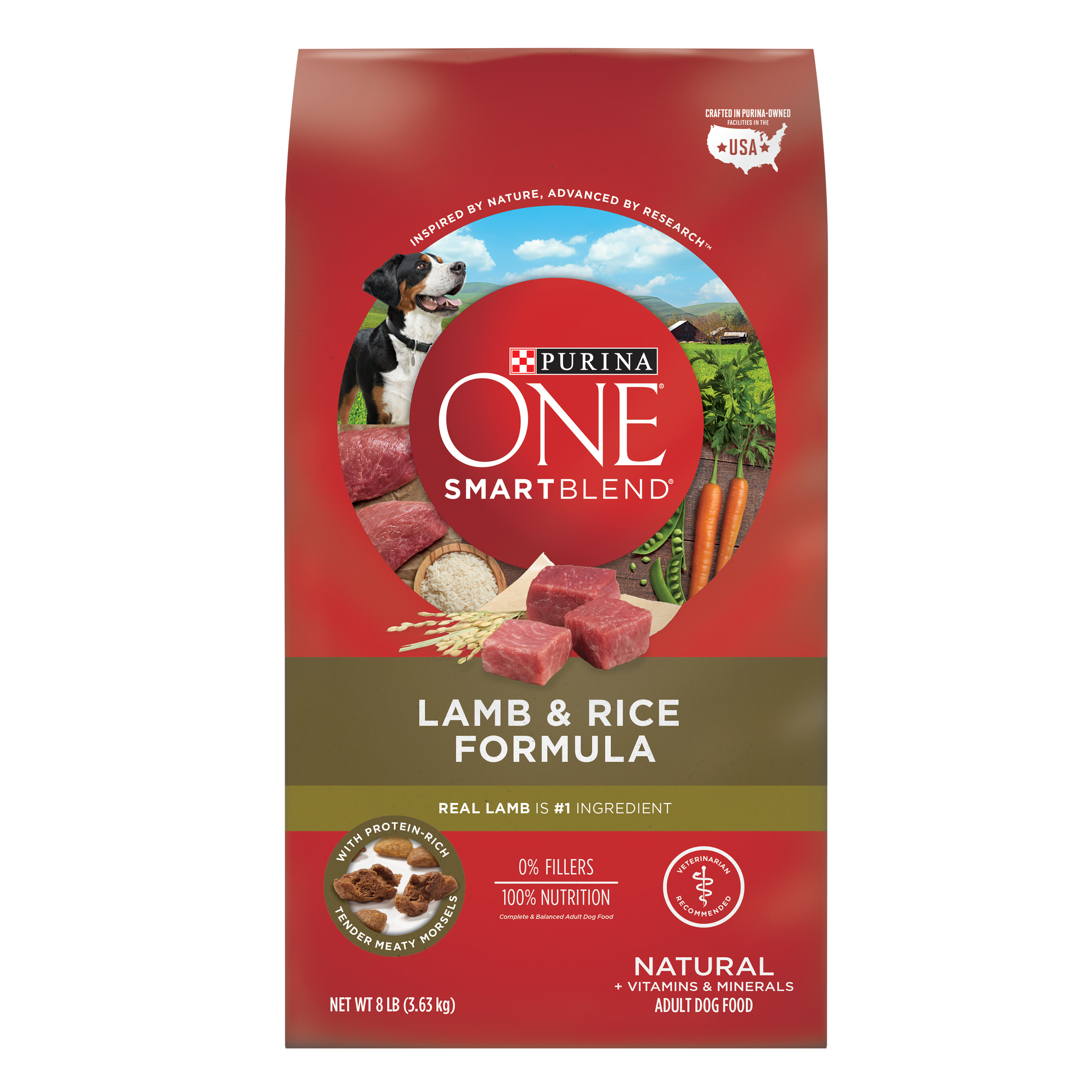 Lamb over rice png. Purina one smartblend natural