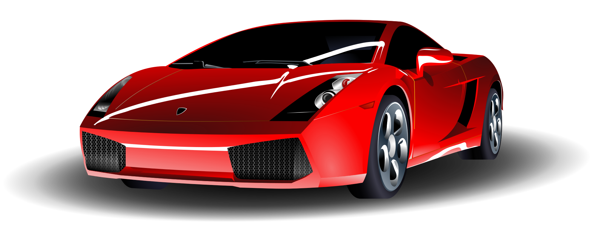 Lambo transparent cartoon. File red lamborghini svg