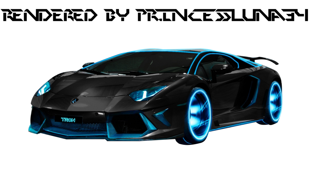 Lambo transparent cartoon. Tron lamborghini aventador hd