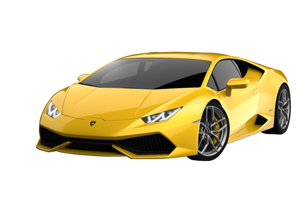lambo transparent yello