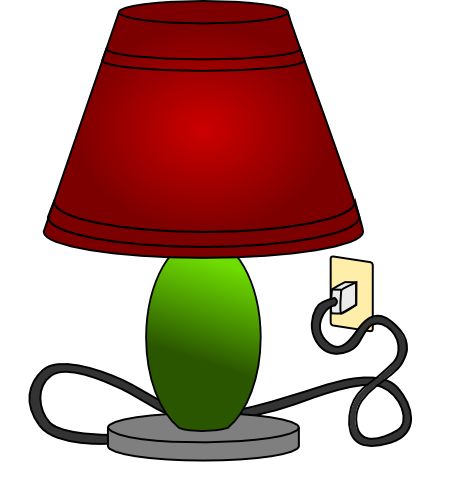 Lamp clipart. Cilpart excellent design unique