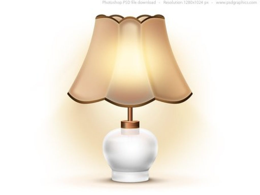 Lamp clipart file. Standard with shade download