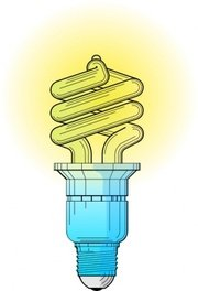 Lamp clipart flourescent lamp. Free fluorescent light bulb