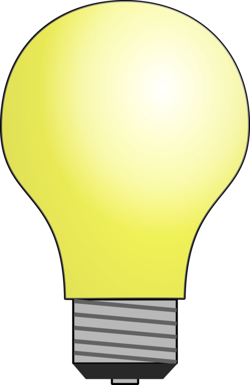 Lamp clipart flourescent lamp. Incandescent light bulb led