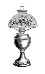 Lamp clipart old timey. Best fonts and