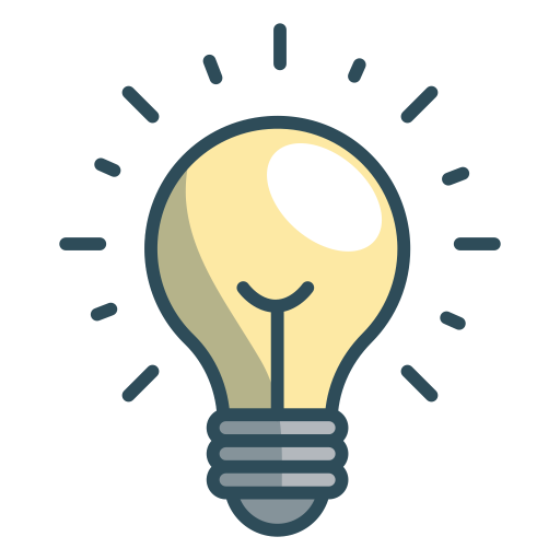 Lamp icon png. Bulb office iconset vexels