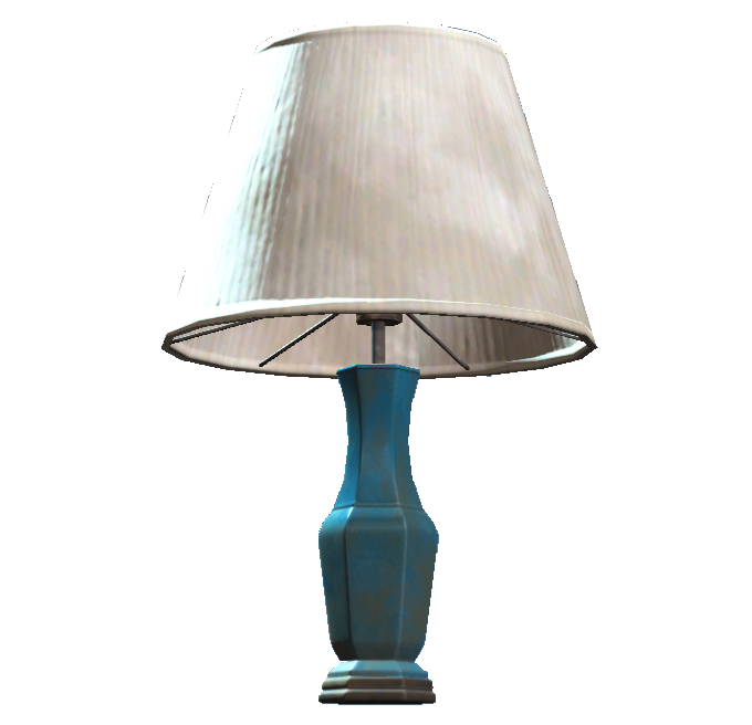Lamp png. Image blue table fallout