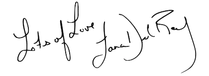Lana del rey signature png. Pick one discography edition