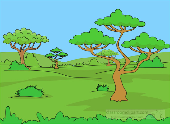 Land clipart grassland biome. See habitat pencil and