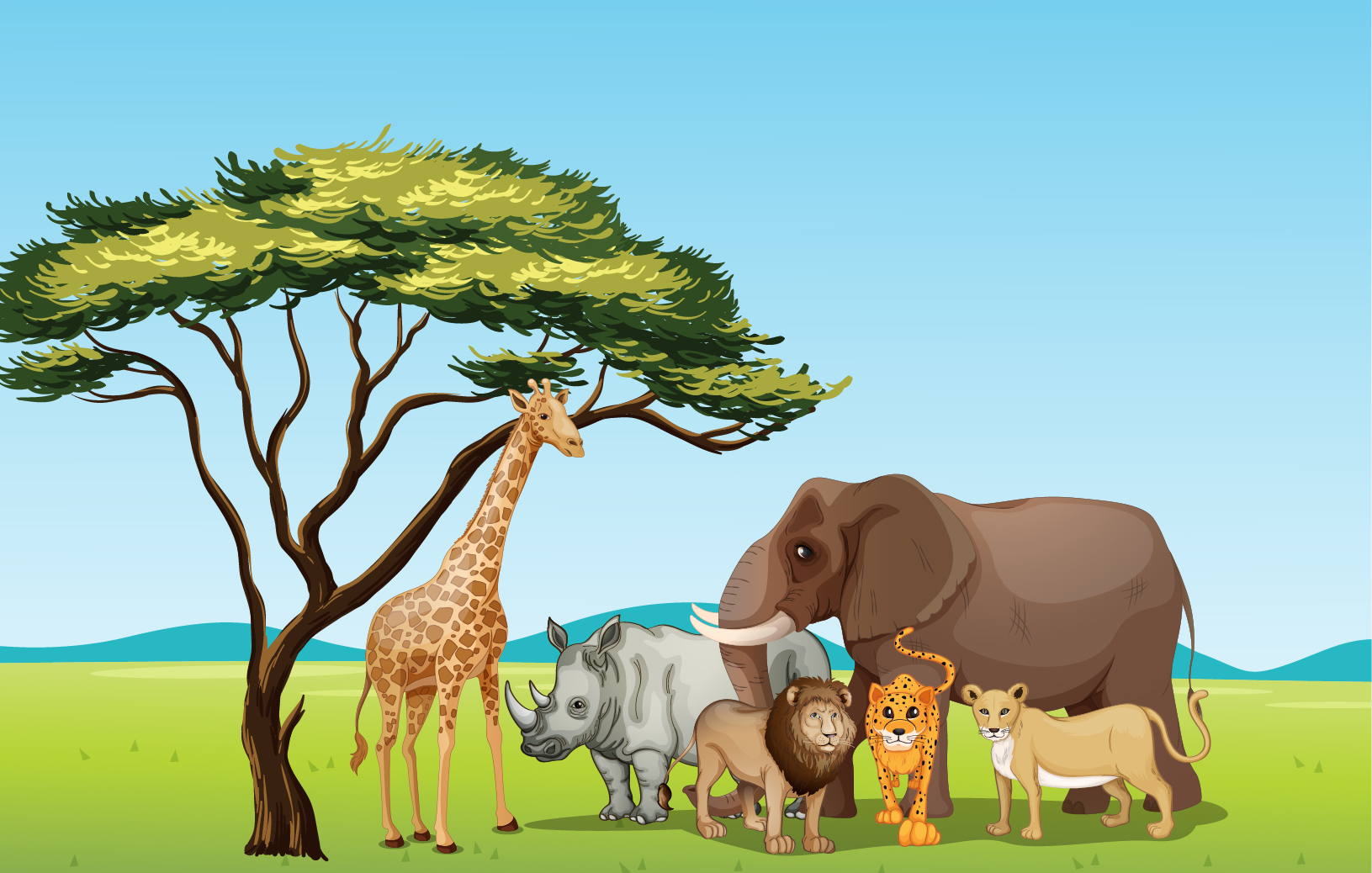 See habitat pencil and. Land clipart grassland biome svg library