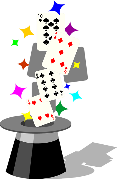 Magician clipart. Free magic game cliparts