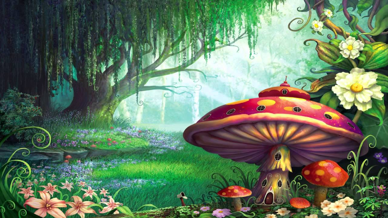 Land clipart magical. Psychedelic dubstep mix from