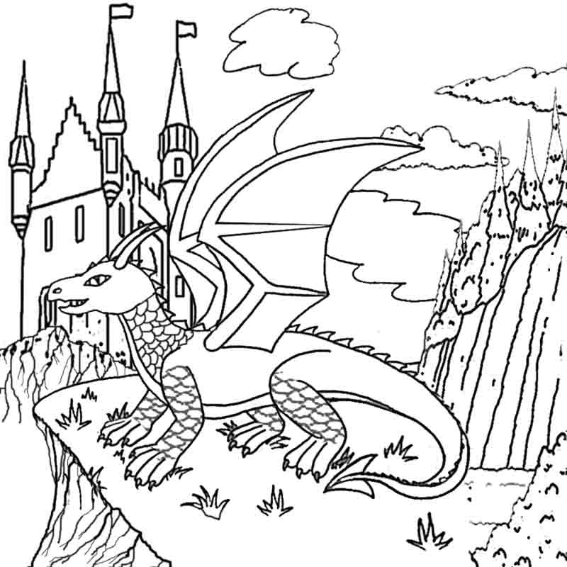 Land clipart magical. Magic kingdom castle drawing
