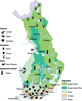 Land vector use. Finland map world maps
