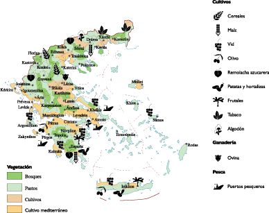 Land vector use. Greece map world maps